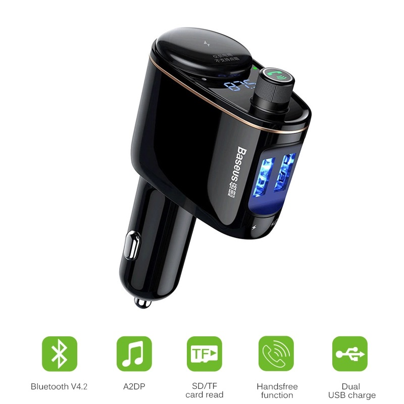 Bluetooth Handsfree USB Car Charger Adapter