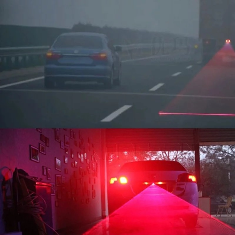 Fog Lights Car Laser Warning Signal