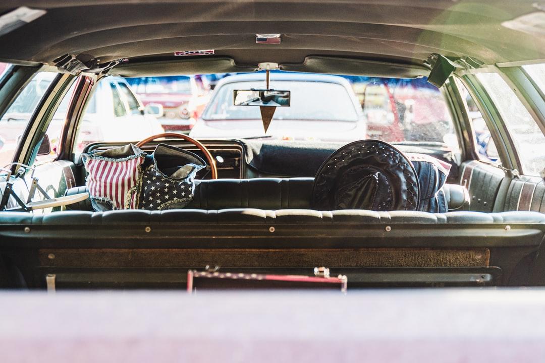 A trunk of a car